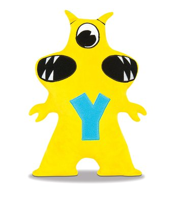 Yellow & Blue Yakityak Plush Toy