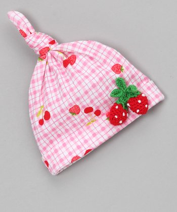 Strawberry Pie Single-Knot Beanie