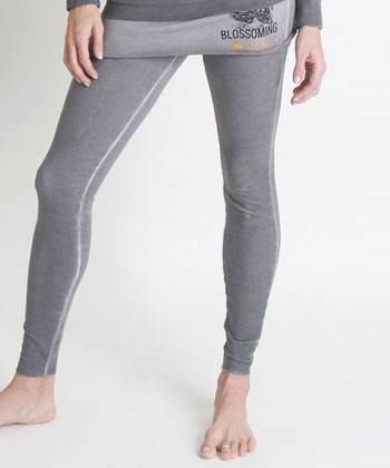 Nuka Vintage Gray Maternity Skirted Leggings