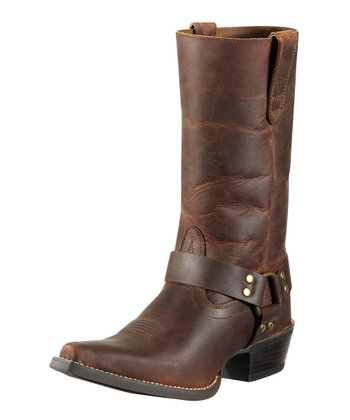 Powder Brown Hollywood Harness Boot - Women