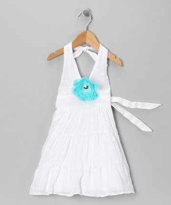 White Sunny Days Dress - Toddler & Girls