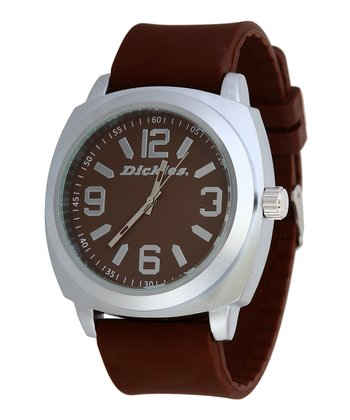 Brown & Silver Smooth Sailing Watch