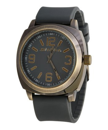 Gray & Gold Smooth Sailing Watch