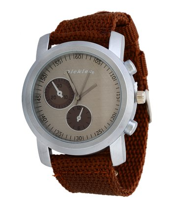 Brown Clean-Cut Watch
