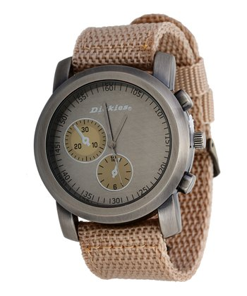 Beige Clean-Cut Watch