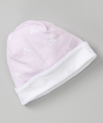 Lavender French Fairies Beanie