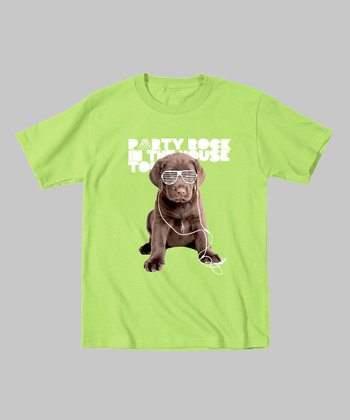 Key Lime 'Party Rock' Puppy Tee - Infant, Toddler & Boys