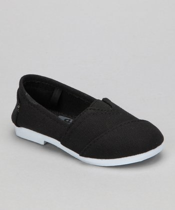 Black Timmy Slip-On Shoe