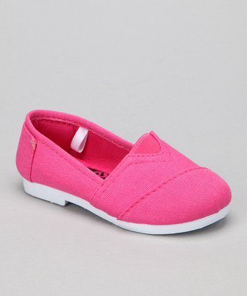 Fuchsia Timmy Slip-On Shoe