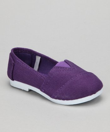 Purple Timmy Slip-On Shoe