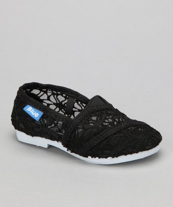 Black Lace Timmy Slip-On Shoe