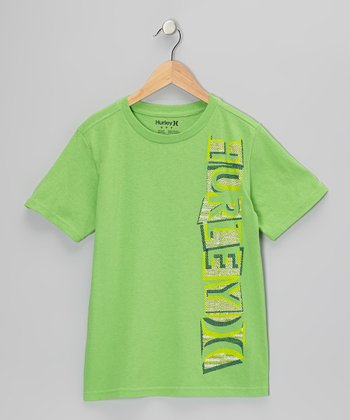 Direct Green Off-Setter Tee - Boys