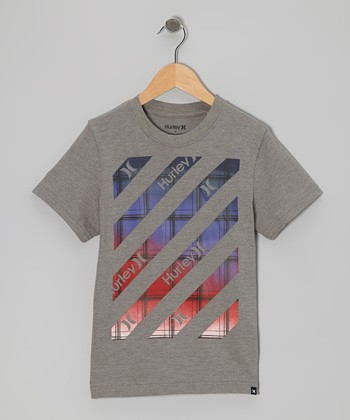Medium Gray Hazard Canyon Tee - Boys