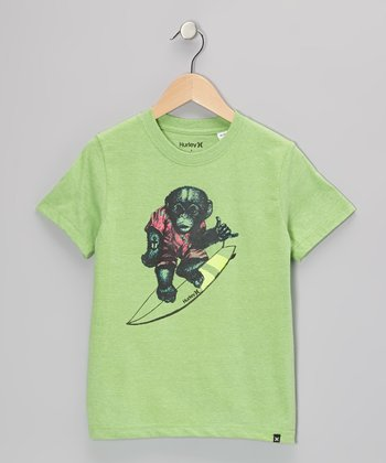 Direct Green Monkey Around Tee - Boys