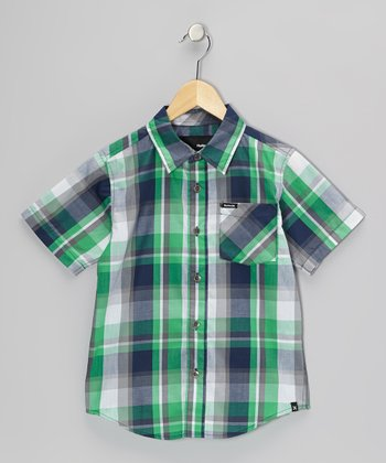 Legacy Navy Destination Woven Shirt - Infant, Toddler & Boys