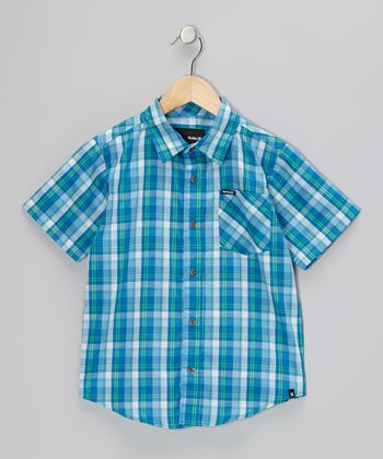 Code Blue Acoustic Woven Shirt - Toddler