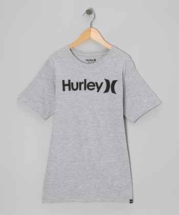 Gray Heather One & Only Tee - Boys