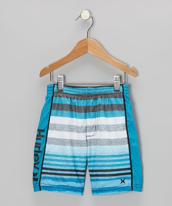 Baby Cyan Faux Shorts - Toddler & Boys