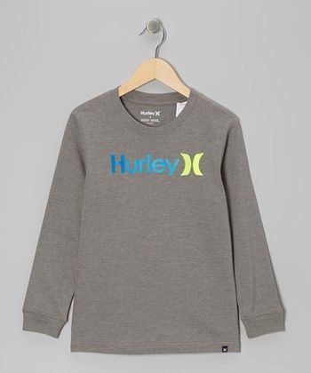 Medium Gray Heather One & Only Tee - Toddler