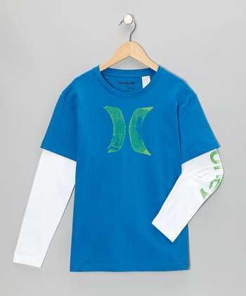 Code Blue Scapher Layered Tee - Toddler