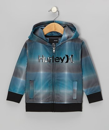 Baby Cyan Score Zip-Up Hoodie - Infant