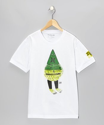 White Stinkman Tee - Boys
