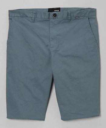 Light Blue Chino Shorts - Boys