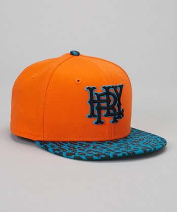 Orange & Blue Baseball Cap