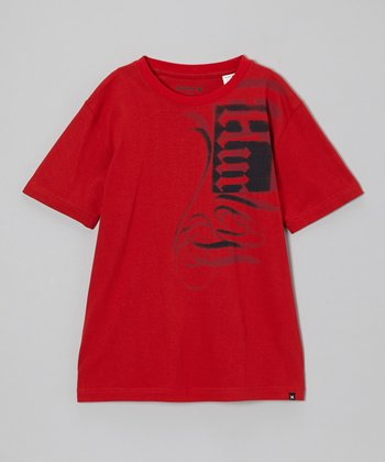 Red Bass Tee - Toddler