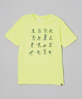 Yellow Soldier Tee - Boys