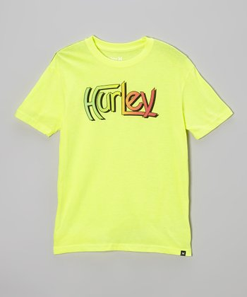 Neon Yellow Original Tee - Boys