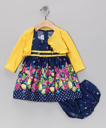 Royal Butterfly Dress Set - Infant