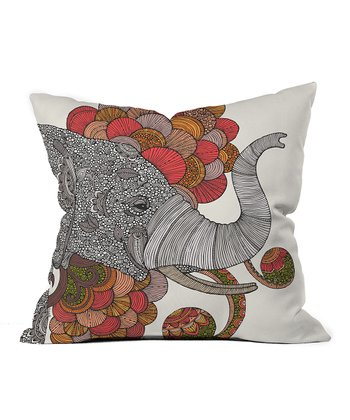 Dreams Of India Throw Pillow