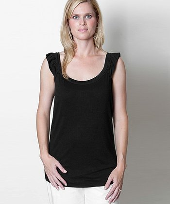Black Lizzie Nursing Tank