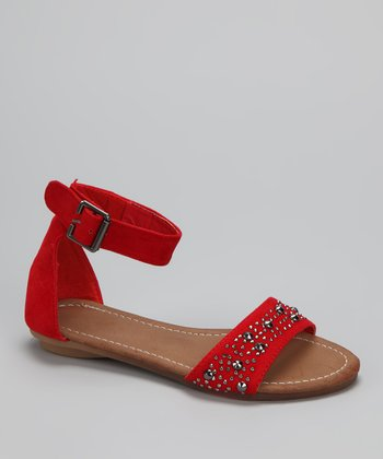 Red Amalie-03K Sandal