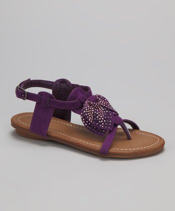 Purple Amalie-11K Sandal