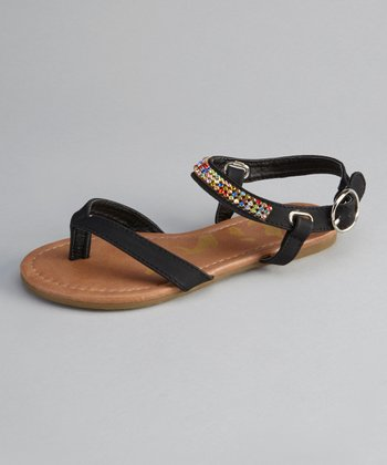 Black Calie Sandal