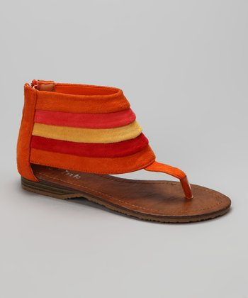 Orange Jasmin-29K Sandal