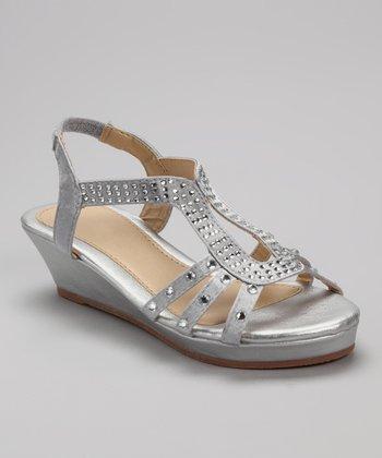 Silver U-Strap Junita Sandal