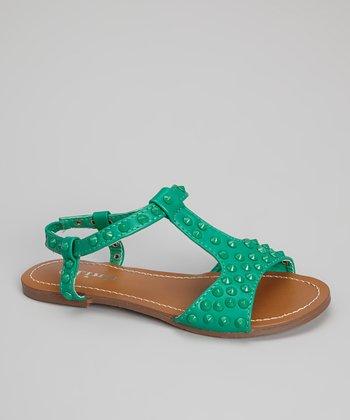 Green Marissa Sandal