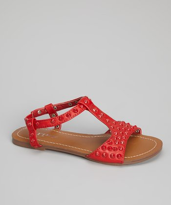 Red Marissa Sandal