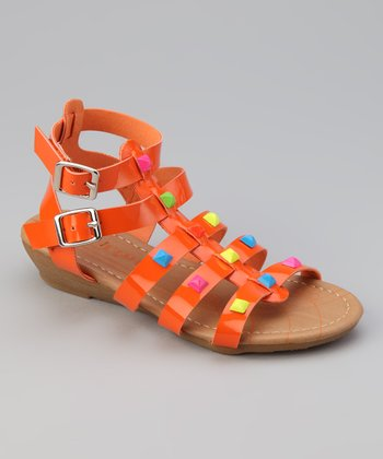 Link Orange Suzy Gladiator Sandal