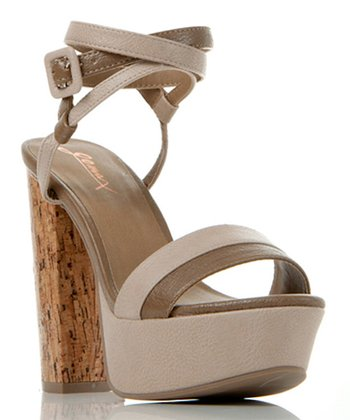 Nude Two-Tone Beyond Compare Sandal