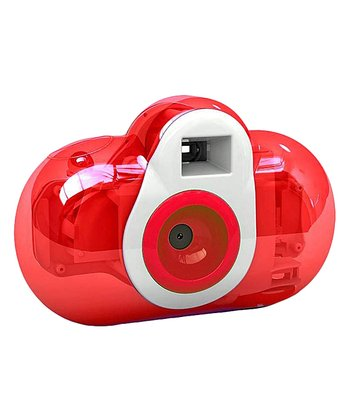 Red Transparent Digital Camera