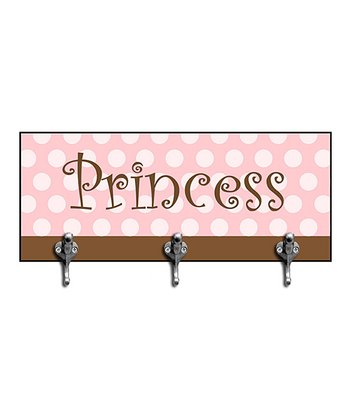 Pink 'Princess' Decorative Hook