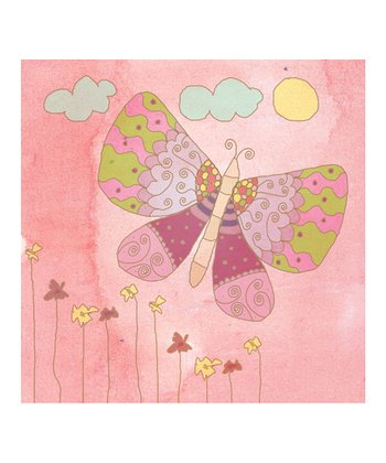 Princess Butterfly I Canvas Print