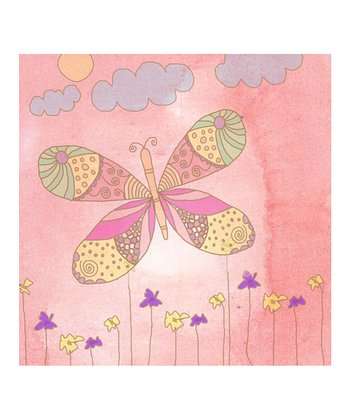 Princess Butterfly II Canvas Print