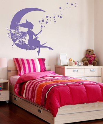 Lavender Moon Fairy Wall Decal Set