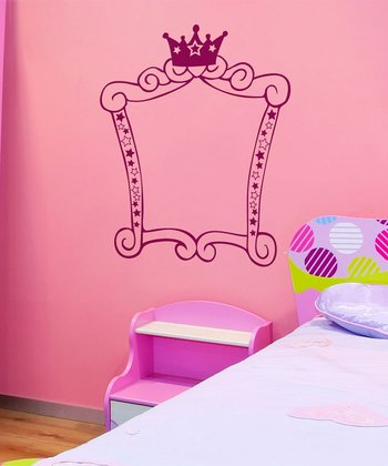 Princess Square Frame Wall Decal