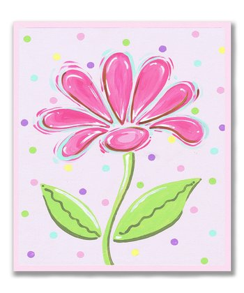 Pink Daisy Wall Art